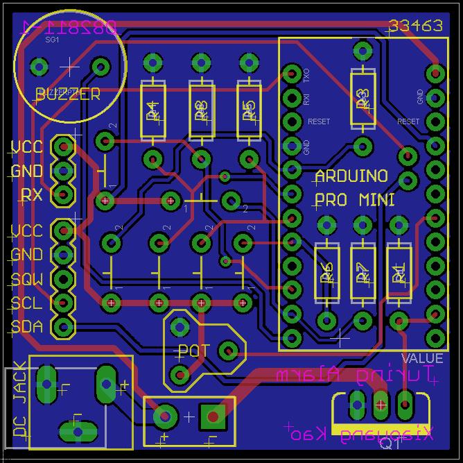 Eagle PCB layout capture